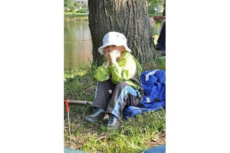 Rybářské závody dětí