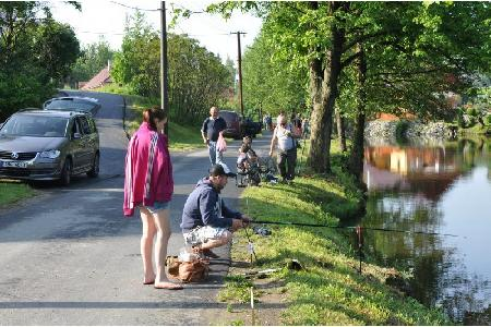 "Rybářské závody dětí ""O cenu kapra Pepíka"""