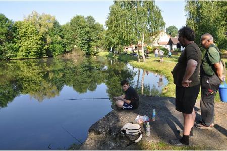 Rybářské závody dětí 2018